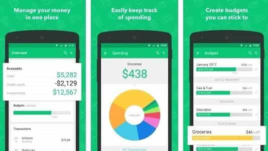 Mint aplicacion para menejar el dinero en iPhone y Android